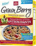 Click here to purchase Grain Berry® Toasted Oats - Original with ONYX Sorghum