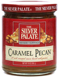... caramel sauce. Laced with pecans, a joy over ice cream, baked apples