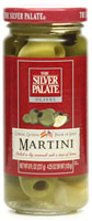 Martini Olives Bathed in Vermouth with Lemon Peel [sil-13315.jpg]