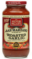 San Marzano Roasted Garlic Pasta Sauce - Click Here for More Information