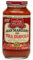 Fra Diavolo Arribiata - Hot and Spicy Pasta Sauce - Click Here for More Information