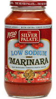 Low Sodium Marinara Pasta Sauce - Click Here for More Information