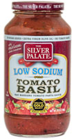 Low Sodium Tomato Basil Pasta Sauce - Click Here for More Information